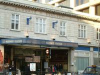 Aldgate Tube Station
