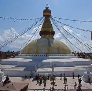 Biggest Stupa In South Asia Bouddhanath