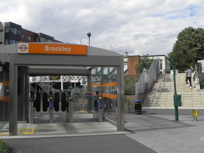 Brockley Station Eastern Entrance