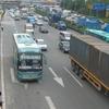 Busy Highway In Baoan