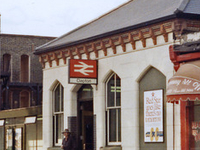 Clapton Railway Station