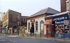 Clapton Railway Station Entrance