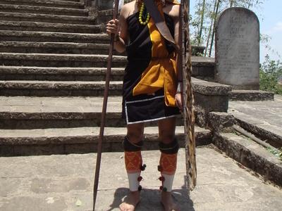 A Naga Warrior