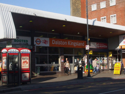 Dalston Kingsland Station Entrance
