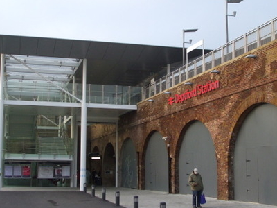 Deptford Station Entrance