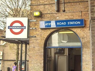 Latimer Road Tube Station