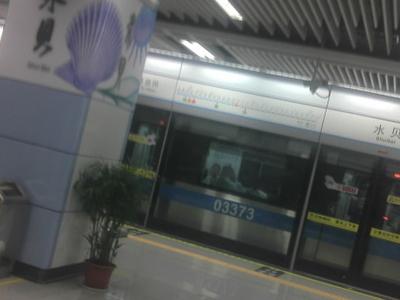 Longgang  Line  Shuibei  Station