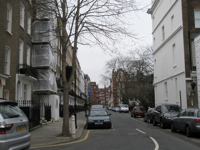 Looking Westwards Along Cadogan Place