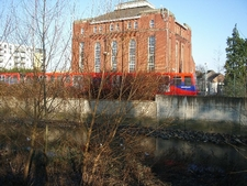 View Of Ravensbourne And DLR From The Park