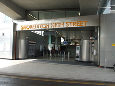 Shoreditch High Street Railway Station