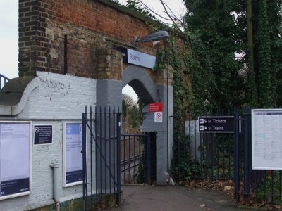 St Johns Railway Station Entrance