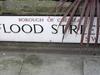 Street Sign For Flood Street