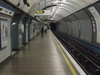 Platform Of The Tube Station