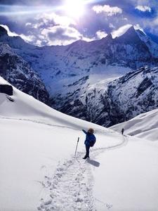 Way To Annapurna Base Camp