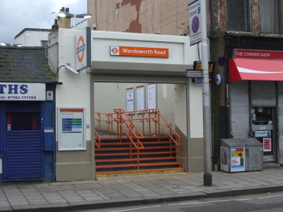 Wandsworth Road Station Entrance
