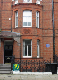 Oscar Wilde's House At 34 Tite Street