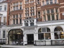 Cafe At Number 3a Wimpole Street