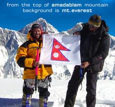 Amadablam Icegroper Summit
