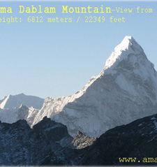 Ama Dablam From Kalapatthar