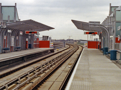 Blackwall DLR Station