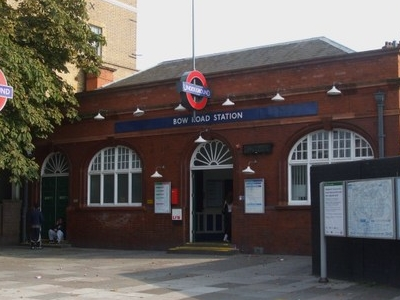 Bow Road Tube Station Building