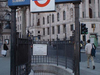 Entrances To Charing Cross Station From Trafalgar Square