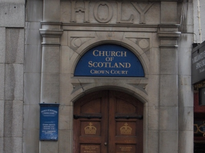 Crown Court Church Main Entrance