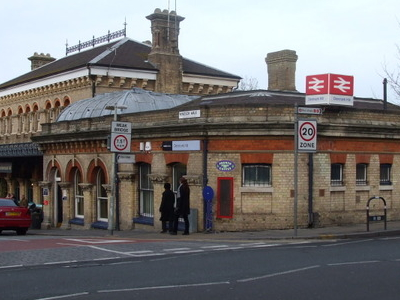 Denmark Hill Railway Station Building