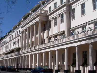 Terrace To The North Side Of Eaton Square