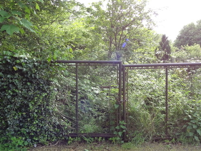 The Locked Entrance To Edith Gardens