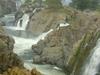Hogenakkal Falls In A Breezy Weather.
