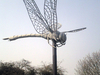 Dragonfly Sculpture At Hounslow Heath