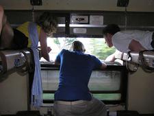 Inside Of Train Train