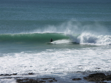 Jeffreys Bay Surfing At Supertubes