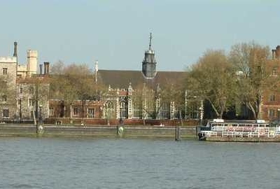 River Thames And Lambeth Palace Road