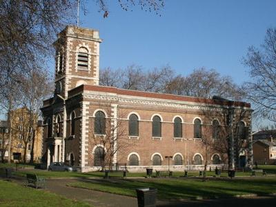 St Matthew's, Bethnal Green