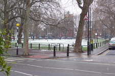 Parsons Green Park In Winter