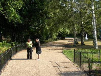 View In Dulwich Park