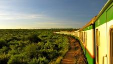 Train Nairobi Mombasa Kenya