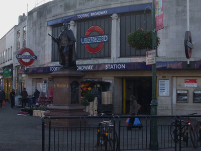 Tooting Broadway Tube Station Building