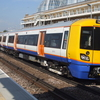 A London Overground Train At Imperial Wharf