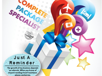We Are The Complete Package Specialists