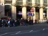 Westminster Station Entrance