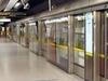 Platform Screens On The Eastbound Jubilee Line Platform
