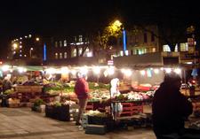 The Market Area In Whitechapel