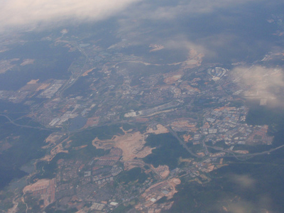 Aerial  View  Of  Rawang