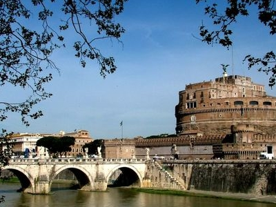 Castel Sant'Angelo And The Lungotevere