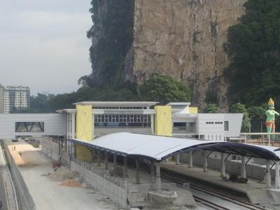 Batu  Caves  Railway  Station  2