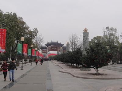 Chongyuan Temple - View