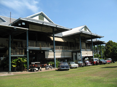 Clearwater Sanctuary Golf Resort Clubhouse